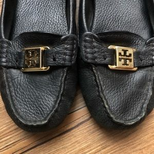 Tory Burch Leather Loafers Sz 8 1/2